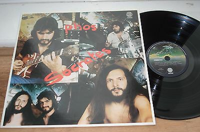 Socrates Phos 1ST PRESS!! EX+/EX+ SUPERB AUDIO!! TOP COPY!  1976 GREECE LP