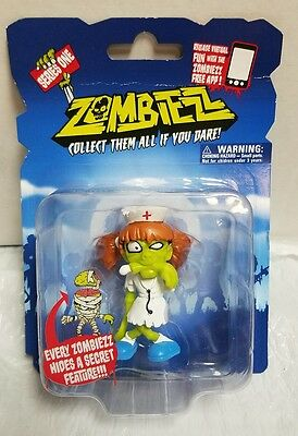 Zombiezz #171 Nurse Moulder Series 1 Secret Feature 2013 Global Holdings ETM