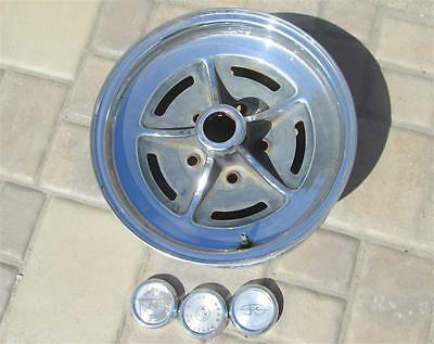 Original Buick 15x6 Chrome Wheel 5 on 5 Pattern Riviera Wildcat Electra AWESOME!