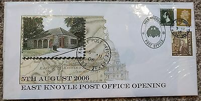 2007 East Knoyle Post Office Opening SEALED - Discworld Stamps - Terry Pratchett