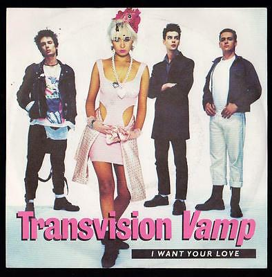 Transvision Vamp Disco 45 Giri I Want Your Love - Mca Records 257 923 - 7