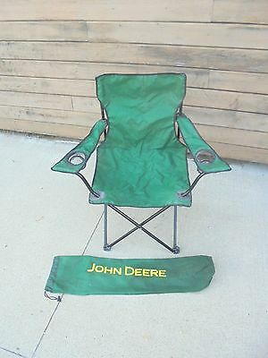 fold up lawn chair with carrying bag john deere farm tractors