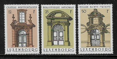 Luxembourg 792-4 Mint Never Hinged Set - Doorways