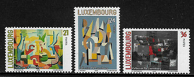 Luxembourg 1037-9 Mint Never Hinged Set - Art Collection