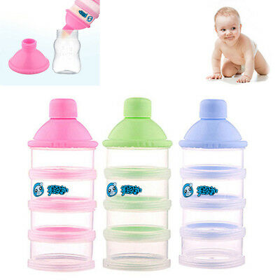Latest Formula Dispenser Outdoor Portable Baby Milk Powder Storage Container Box