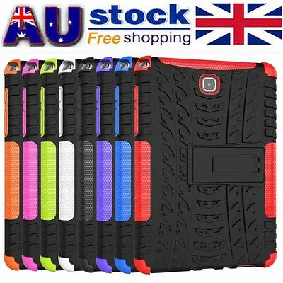 TPU Hard Back Stand Case Cover For Samsung Galaxy Tab A 8.0inch SM-T350 Tablet