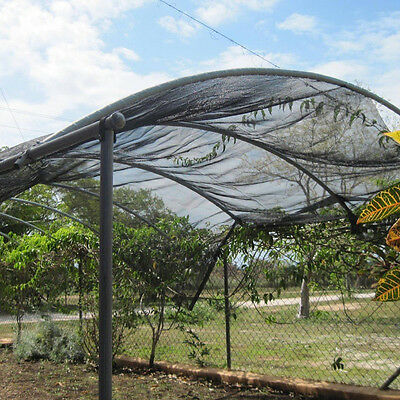40% Sunblock Shade Cloth for Plant Cover Greenhouse Barn 10Ft x 30Ft