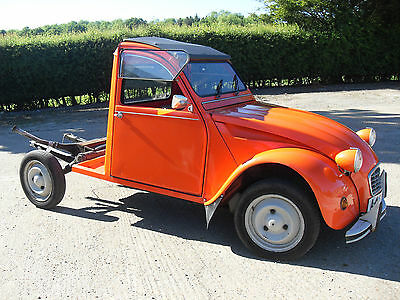 1984 Citroen 2Cv6 Special Pick Up - Ideal Business Opportunity - H Van It Is Not