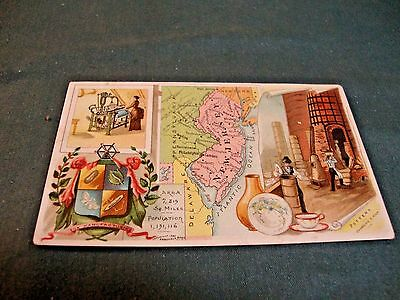 Victorian Trade Card For Arbuckle's Ariosa Coffee Card No. 93 New Jersey
