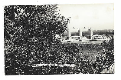 Vintage RP postcard Denver Sluice, Downham Market Norfolk. Frith's Series