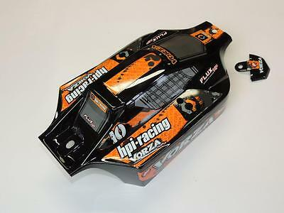 HPI Vorza 101842 - VB-1 Buggy Body  (PAINTED/BLACK/ORANGE)