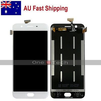 "AU New Oppo 5.5"" F1s A1601 White Touch Digitizer LCD Display Assembly Screen"