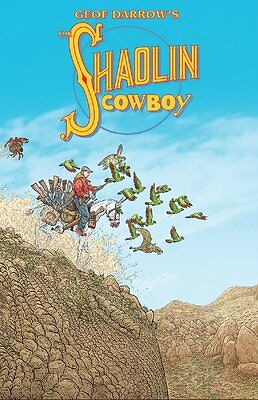 The Shaolin Cowboy by Geoff Darrow Burlyman tpb collection RARE & OOP
