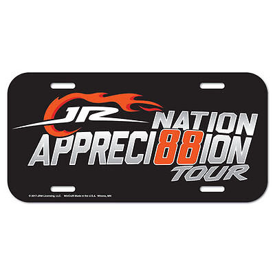 WinCraft Dale Earnhardt Jr. License Plate - NASCAR