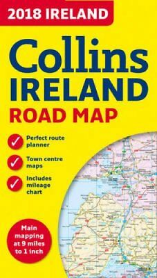 2018 Collins Map of Ireland by Collins Maps 9780008211592