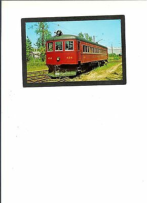 """PC """"# 454 Trolley - Operated between Quebec City & Ste. Anne de Beaupre""""  UNUSED"""