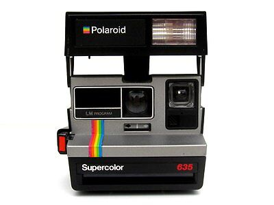 Polaroid Supercolor 635 80's Instant Camera - Fully Tested with 12 Months Gtee