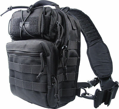 Maxpedition Lunada Gearslinger Black Bag NEW With Tags 0422B Free Shipping