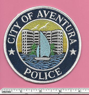 Aventura Florida FL State of Fla Police Patch (Miami - Dade County) - Sailboat