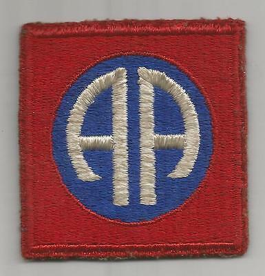 WW 2 US Army 82nd Airborne Division Greenback Patch Inv# K307