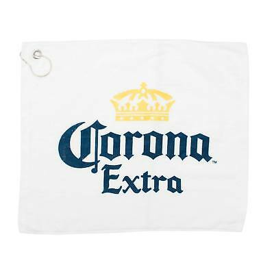 Corona Extra Promotional Golf Towel White