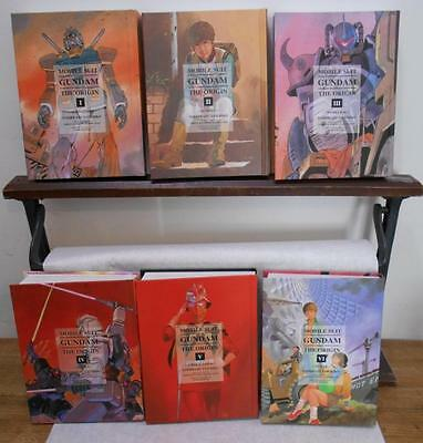 Complete Volumes I - VI Gundam Mobile Suit The Origin Hardcover Excellent! Manga