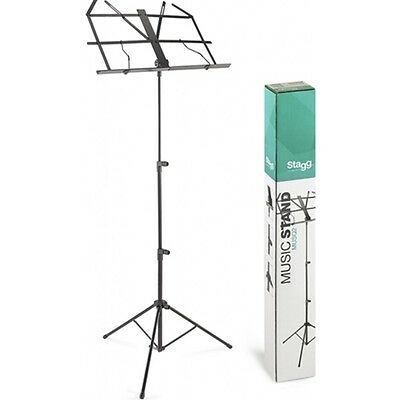Stagg MUSQ2 Q Series Foldable Music Stand with Bag