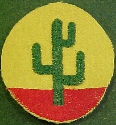 Pre WW2 Embr/Wool 103rd Infantry Division Artillery Patch