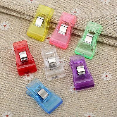 Plastic+Metal Sewing Craft Quilt Quilter Holding Clips Clamps Needlework 10/50pc