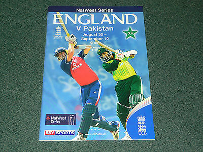 2006 Cricket NatWest Series - ENGLAND v. PAKISTAN official programme