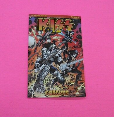 KISS FOREVER ONE SHOT COMIC DYNAMITE 2017 Gene Simmons