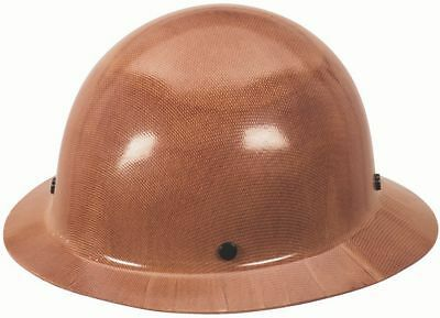 MSA 454672 Skullgard Brown Protective Hat with Staz-On Suspension