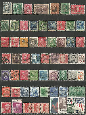 United States from 1870 year nice Collections old used stamps