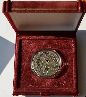 Belarus, 20 Roubles, 2005 Proof Silver Coin, The Stone Flower fairy tale, COA