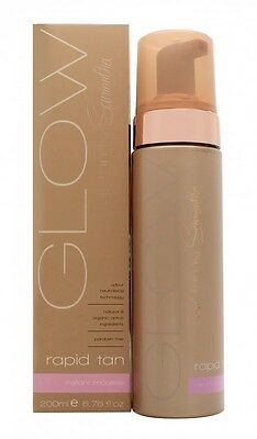 Samantha Faiers Glow Self Tan Rapid Tan Instant Mousse - Women's For Her. New