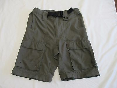 Boy Scouts Shorts Uniform Switchback Belted Polyester Youth Medium