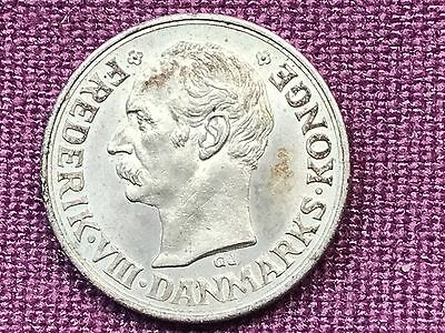 T2: World Coin Denmark: 1911 10 Ore Lowest Mintage of Type