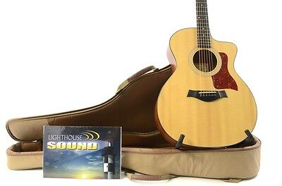 2012 Taylor 114CE Grand Auditorium Acoustic Electric Guitar w/ Taylor Gig Bag