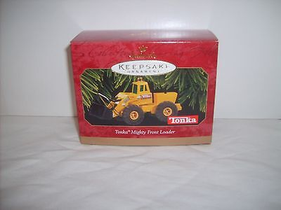 NIP 1997 Hallmark Keepsake Tonka Mighty Front Loader-Die Cast