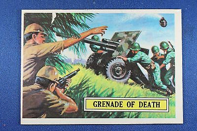 1965 Topps Battle Cards - #4 Grenade of Death - Very Good Condition