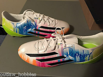 Vancouver Whitecaps Pedro Morales Autographed MLS Adidas Messi Boots COA
