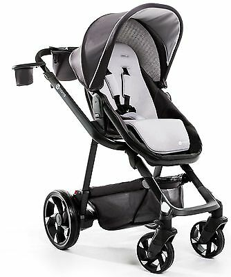 4Moms Moxi Single Baby Stroller Self Powered with LCD Dashboard Graphite NEW