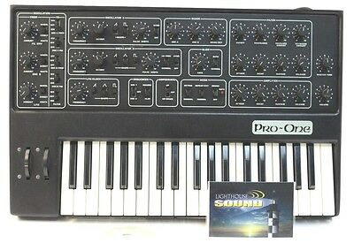 Sequential Circuits Pro One Analog Synth SYNTHESIZER - VINTAGE