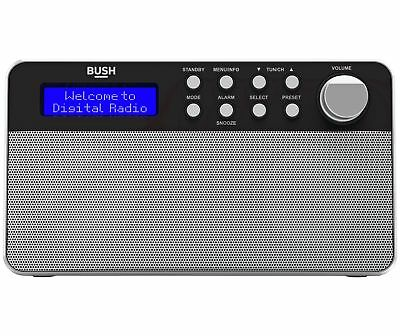 Bush Stereo DAB Radio - Black