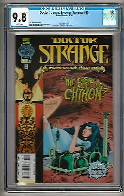 """Doctor Strange, Sorcerer Supreme #90 (1996) CGC 9.8 White Pages  """"Last Issue"""""""