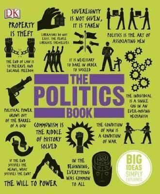 The Politics Book by DK 9781409364450 (Hardback, 2013)