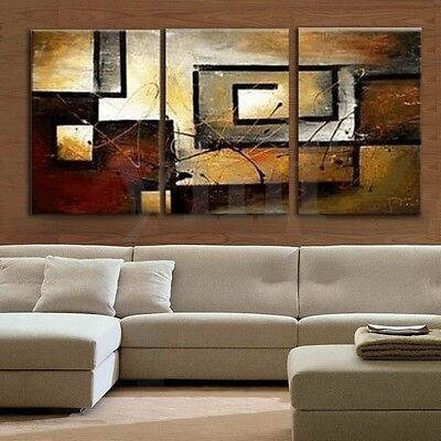 3Pcs Modern Canvas Abstract Print Wall Art Painting Picture Home Decor No frame
