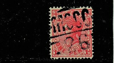 VICTORIA   Barred Numeral  MCCC/26  (1326) of ALLAMBEE rated RRR - real rarity