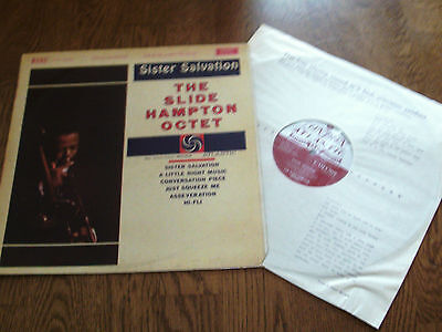 The Slide Hampton Octet - London Atlantic 1961 vinyl lp - Sister Salvation