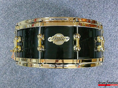 "Pearl MMP Masters Premium Maple Snaredrum in ""Black Mist""  -  14x5,5"""